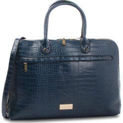 Torba na laptopa MONNARI - BAG4240-013  Navy. Niebieskie torby na laptopa damskie Monnari, ze skóry ekologicznej. W wyprzedaży za 219.00 zł.