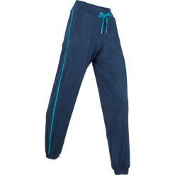 Spodnie sportowe, długie, Level 1 bonprix ciemnoniebieski melanż. Spodnie dresowe damskie marki bonprix. Za 69.99 zł.