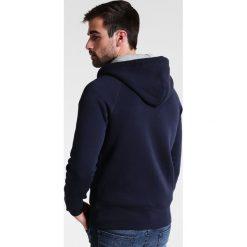 GANT ORIGINAL HOODIE Bluza rozpinana evening blue. Kardigany męskie GANT, z bawełny. Za 509.00 zł.
