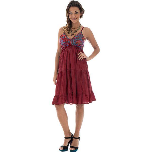 0e632cbc1465f6 Sukienka w kolorze czerwonym - Sukienki damskie marki Aller ...