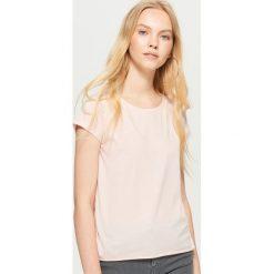 Gładka koszulka BASIC - Różowy. T-shirty damskie marki DOMYOS. W wyprzedaży za 9.99 zł.