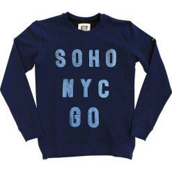 """Bluza """"Liam"""" w kolorze granatowym. Bluzy dla chłopców marki Reserved. W wyprzedaży za 82.95 zł."""