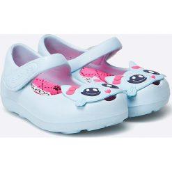 Skechers - Baleriny dziecięce. Baleriny dziewczęce Skechers, z materiału. W wyprzedaży za 49.90 zł.