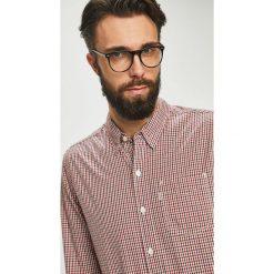Levi's - Koszula. Brązowe koszule męskie Levi's, w kratkę, z bawełny, button down, z długim rękawem. Za 219.90 zł.