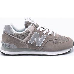New Balance - Buty ML574EGG. Szare buty sportowe męskie New Balance, z materiału. W wyprzedaży za 269.90 zł.