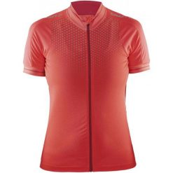 Craft Koszulka Rowerowa Glow W Pink S. Różowe koszulki sportowe damskie Craft, z meshu, z krótkim rękawem. W wyprzedaży za 219.00 zł.
