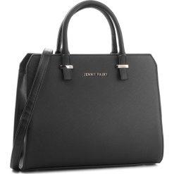 Torebka JENNY FAIRY - RC13351 Black. Czarne torebki do ręki damskie Jenny Fairy, ze skóry ekologicznej. Za 99.99 zł.