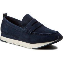 Mokasyny CALVIN KLEIN JEANS - Haben S1604 Indigo/Black. Niebieskie mokasyny męskie Calvin Klein Jeans, z jeansu. W wyprzedaży za 349.00 zł.