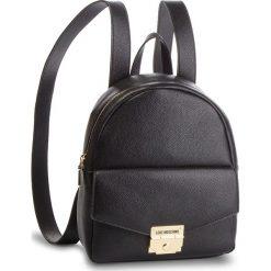 Plecak LOVE MOSCHINO - JC4120PP17LP0000  Nero. Czarne plecaki damskie Love Moschino, ze skóry ekologicznej, klasyczne. Za 839.00 zł.