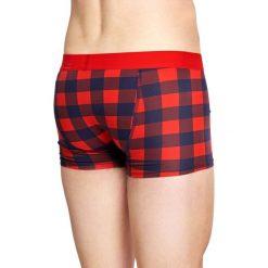 Happy Socks - Bokserki Lumberjack. Różowe bokserki męskie Happy Socks, z bawełny. W wyprzedaży za 59.90 zł.