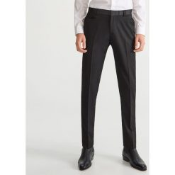 Eleganckie spodnie w kant - Czarny. Eleganckie spodnie męskie marki Giacomo Conti. W wyprzedaży za 119.99 zł.