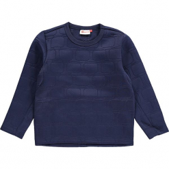 """Bluza """"Sebastian 707"""" w kolorze granatowym. Zielone bluzy dla chłopców marki Lego Wear Fashion, z bawełny, z długim rękawem. W wyprzedaży za 92.95 zł."""