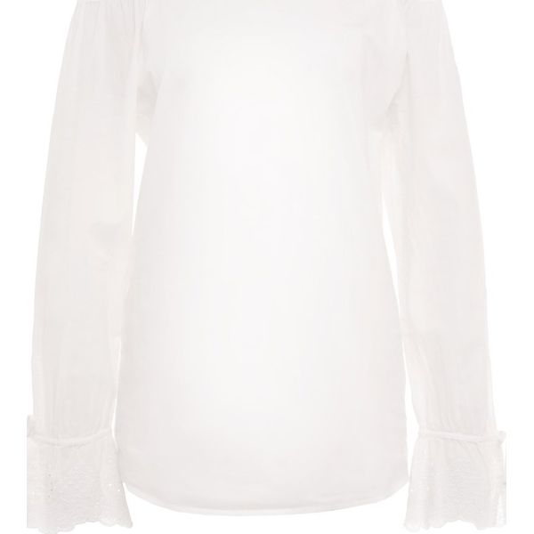 484feec385f791 BOSS CASUAL EMOINA Bluzka white - Bluzki damskie marki BOSS CASUAL ...