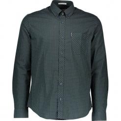 """Koszula """"Gingham"""" - Regular fit - w kolorze zielono-granatowym. Niebieskie koszule męskie Ben Sherman, w kratkę, z bawełny, button down. W wyprzedaży za 130.95 zł."""