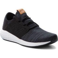 Buty NEW BALANCE - MCRUZKB2 Czarny. Czarne buty sportowe męskie New Balance, z materiału. W wyprzedaży za 269.00 zł.