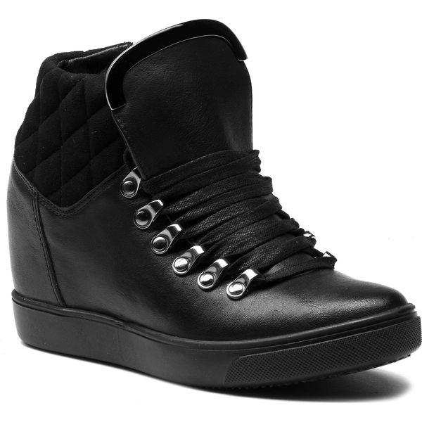 867f4caba3fbb Sneakersy WOJAS - 8660-71 Czarny - Półbuty damskie marki Wojas. W ...