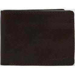 Wrangler - Portfel skórzany. Czarne portfele męskie Wrangler, z materiału. Za 269.90 zł.