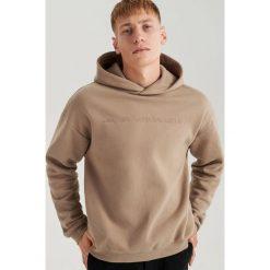 Bluza z kapturem ReDesign - Beżowy. Brązowe bluzy męskie Reserved. Za 139.99 zł.