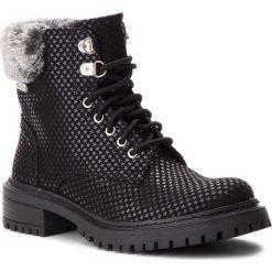 Trapery PEPE JEANS - Collie Sky PLS50337 Black 999. Czarne śniegowce i trapery damskie Pepe Jeans, z jeansu. W wyprzedaży za 279.00 zł.