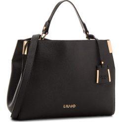 Torebka LIU JO - M Top Handle Isola A68003 E0087  Nero 22222. Czarne torebki do ręki damskie Liu Jo. Za 599.00 zł.