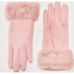 Rękawiczki z futerkiem - Różowy. Czerwone rękawiczki damskie House. Za 29.99 zł.