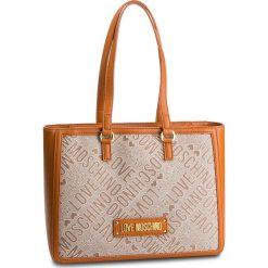 Torebka LOVE MOSCHINO - JC4019PP17LC110C  Cuoio. Brązowe torebki do ręki damskie Love Moschino, z materiału. Za 799.00 zł.