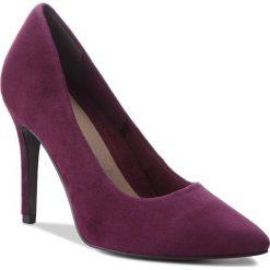 Szpilki TAMARIS - 1-22443-31 Dk. Purple 546. Fioletowe szpilki damskie Tamaris, z materiału. W wyprzedaży za 189.00 zł.