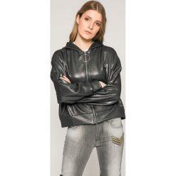 Guess Jeans - Bluza Sabine. Szare bluzy damskie Guess Jeans, z bawełny. W wyprzedaży za 239.90 zł.