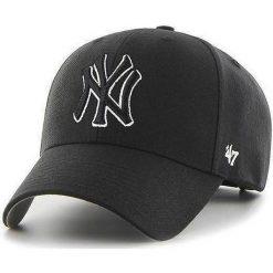47brand - Czapka NY Yankees. Czarne czapki i kapelusze męskie 47brand. Za 89.90 zł.