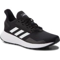 Buty adidas - Duramo 9 K BB7061 Cblack/Ftwwht/Cblack. Czarne obuwie sportowe damskie Adidas, z materiału. W wyprzedaży za 149.00 zł.
