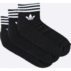 Adidas Originals - Skarpety (3-Pack). Szare skarpety męskie adidas Originals, z bawełny. W wyprzedaży za 49.90 zł.