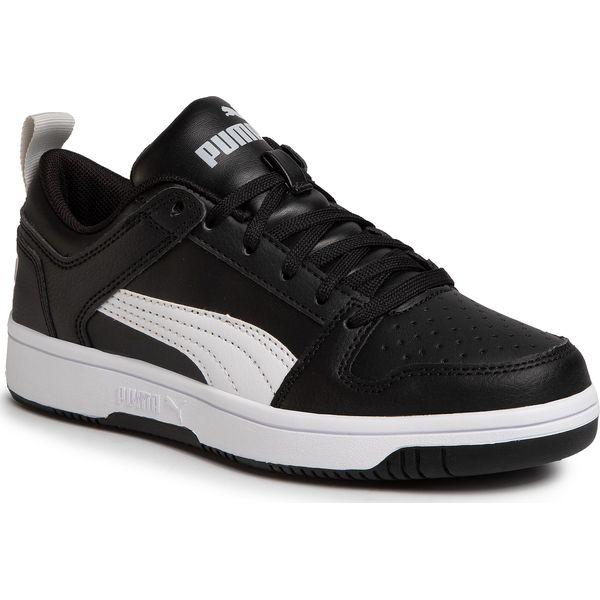 Sneakersy PUMA Rebound Layup Lo Sl Jr 370490 02 Puma BlackWhiteHigh Rise