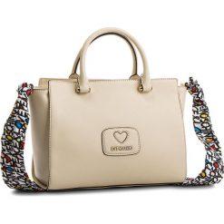 Torebka LOVE MOSCHINO - JC4256PP05KF0110  Avorio. Brązowe torebki do ręki damskie Love Moschino, ze skóry ekologicznej. W wyprzedaży za 489.00 zł.