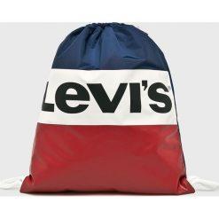 Levi's - Plecak. Brązowe plecaki damskie Levi's, z poliesteru. Za 99.90 zł.