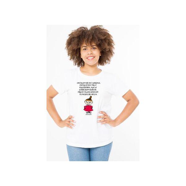 Koszulka Damska Hatifnaty Buka Przy Nich To Mały Biały