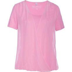 Bluzka shirtowa bonprix jasnoróżowy. Bluzki damskie marki DOMYOS. Za 54.99 zł.