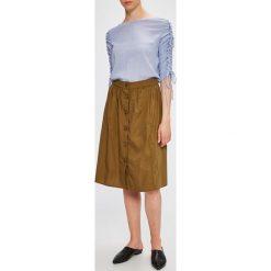 Only - Spódnica Mona. Spódnice damskie Only, z bawełny. W wyprzedaży za 89.90 zł.