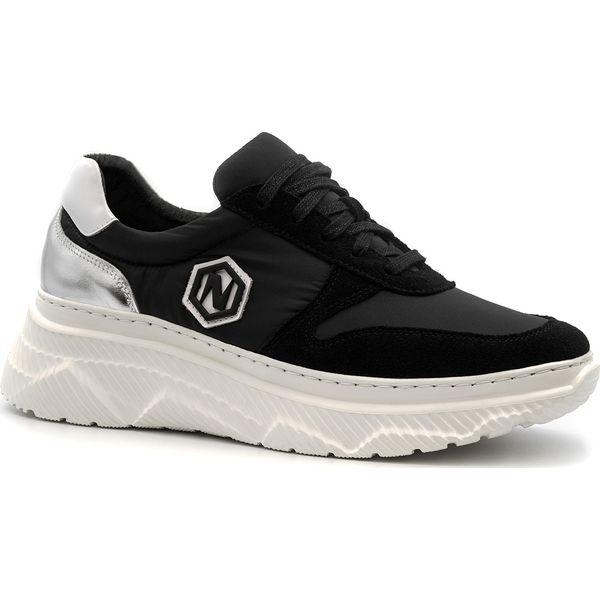 Sneakersy damskie Neścior sportowe bez wzorów skórzane Buty