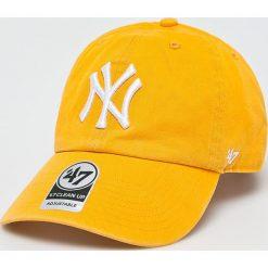 47brand - Czapka New York Yankees. Pomarańczowe czapki i kapelusze męskie 47brand. Za 99.90 zł.