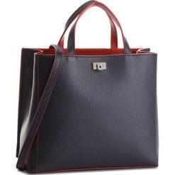 Torebka COCCINELLE - CC7 Tahlia Soft E1 CC7 18 01 01 Bleu/Bourgogne 578. Niebieskie torebki do ręki damskie Coccinelle, ze skóry. W wyprzedaży za 1,049.00 zł.