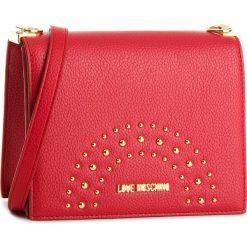 Torebka LOVE MOSCHINO - JC4116PP16LU0500  Rosso. Czerwone torebki do ręki damskie Love Moschino, ze skóry ekologicznej. W wyprzedaży za 409.00 zł.