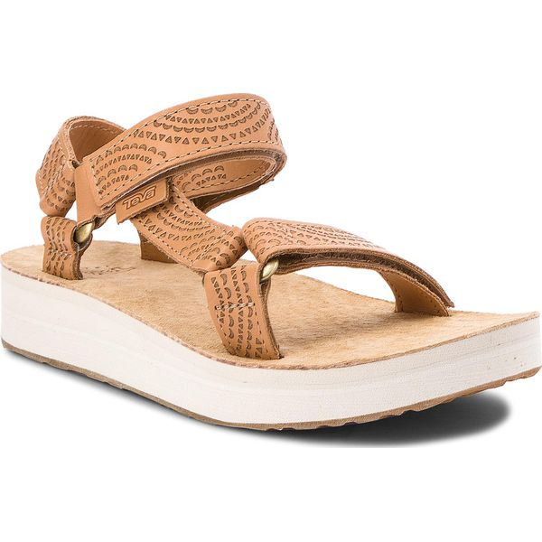 Sandały damskie: Sandały TEVA - Midform Universal Grometric 1090873 Tan