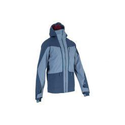 Kurtka narciarska All-Mountain AM900 męska. Niebieskie kurtki męskie WED'ZE, z materiału. Za 499.99 zł.