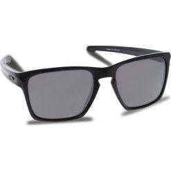Okulary przeciwsłoneczne OAKLEY - Sliver Xl OO9341-1757 Polished Black/Prizm Black Iridium. Czarne okulary przeciwsłoneczne męskie Oakley, z tworzywa sztucznego. W wyprzedaży za 479.00 zł.