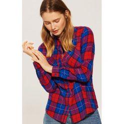 Koszula w kratę - Niebieski. Niebieskie koszule damskie House. Za 39.99 zł.