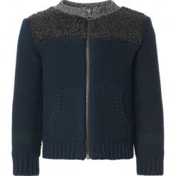 """Kardigan """"Bell"""" w kolorze granatowym. Swetry dla chłopców marki Reserved. W wyprzedaży za 95.95 zł."""