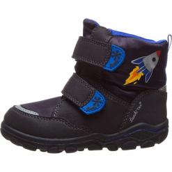 """Botki zimowe """"Kon-Tex"""" w kolorze granatowym. Niebieskie buty zimowe chłopięce Richter, Bundgaard, Lurchi, z materiału. W wyprzedaży za 129.95 zł."""
