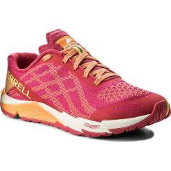 Buty MERRELL - Bare Access Flex E-Mesh J12612 Hot Coral. Czerwone obuwie sportowe damskie Merrell, z materiału. W wyprzedaży za 229.00 zł.