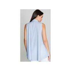 Bluzka M547 Niebieski. Niebieskie bluzki damskie Figl. Za 119.00 zł.