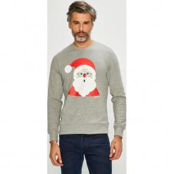 Jack & Jones - Bluza. Szare bluzy męskie Jack & Jones, z nadrukiem, z bawełny. Za 119.90 zł.